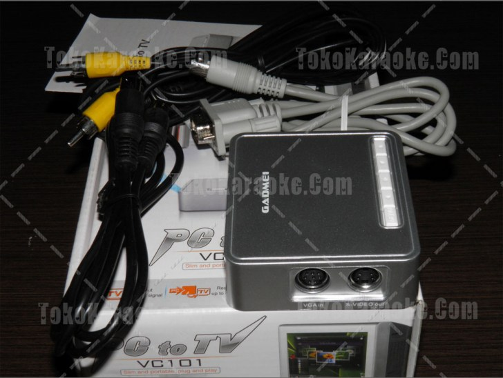 Gadmei vc101 PC to TV
