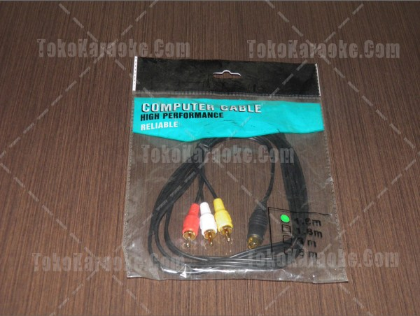 Kabel S-Video to RCA 7 Pin 1,5 Meter