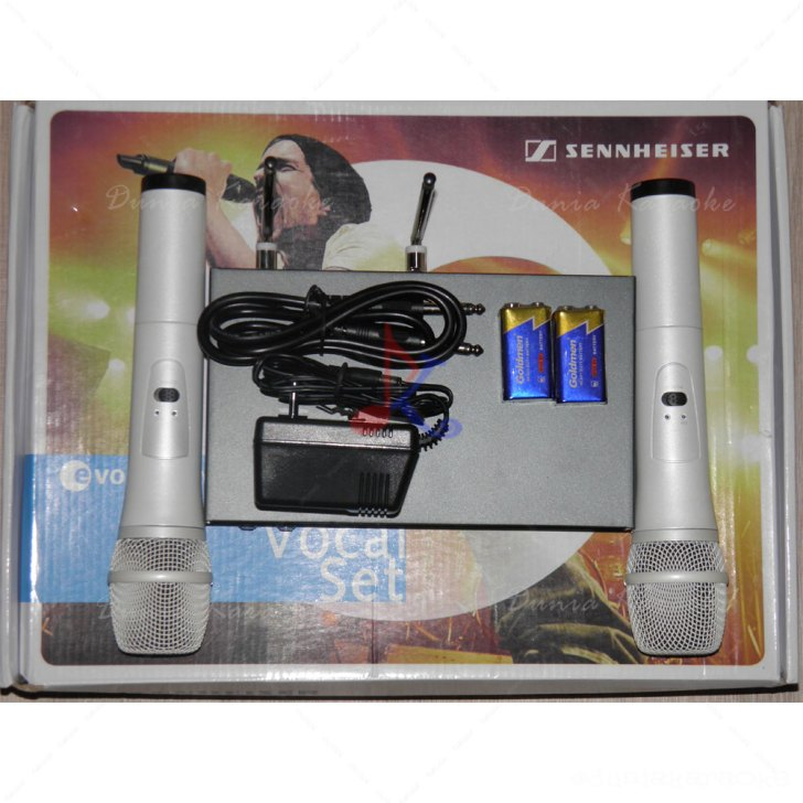 Mic Wireless Sennheiser ew 3000 white