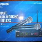 Mic Wireless Shure SLX 242 Beta 58