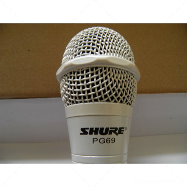 Mic Kabel Shure PG 69 White Edition