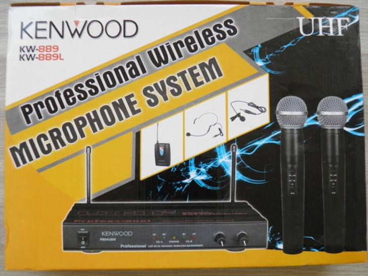 Mic Wireless Kenwood 889