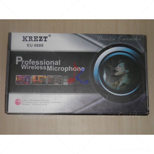 Mic Wireless Krezt EU 4800