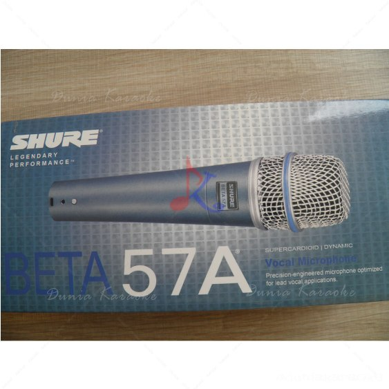 Mic Kabel Shure Beta 57 A Vocal Microphone