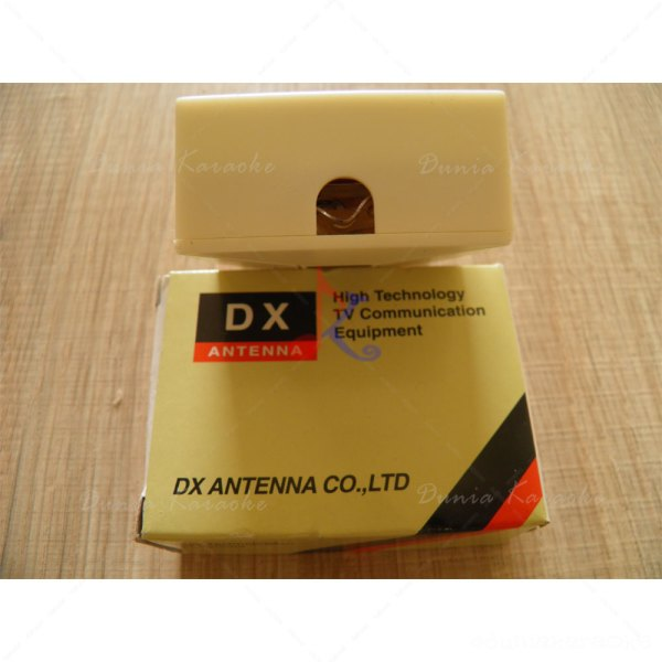 Splitter Antena 2 Way DX BS UV2