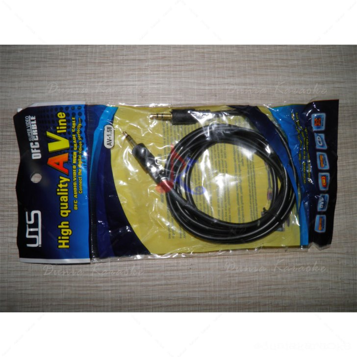 Kabel OFC AudioVideo Cable 3.5 mm jack 1,4 Meter