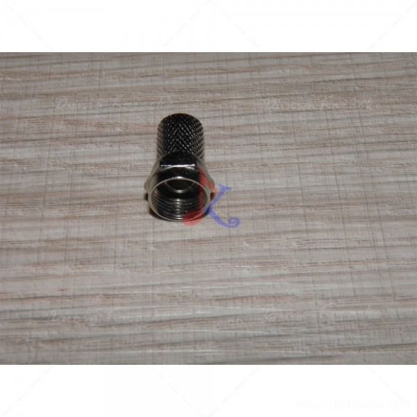 Jack Konektor Type F Connector Twist On Coaxial Cable for RF or CCTV