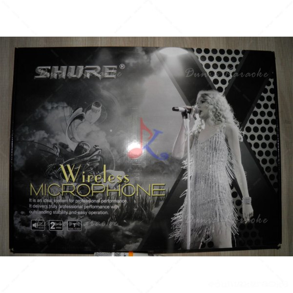 Mic Wireless Shure UR2D
