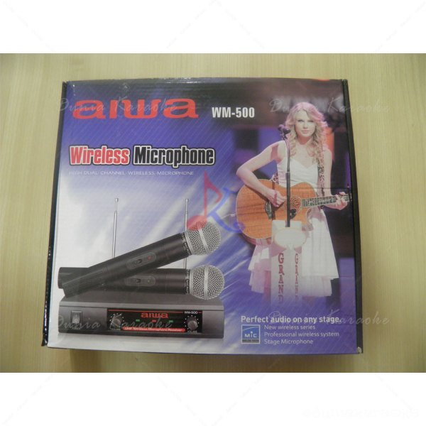 Mic Wireless Aiwa WM 500