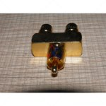 RCA Y Splitter Gold Adapter Y Type Male To Female