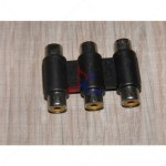 3 RCA Female to 3 RCA Female Coupler