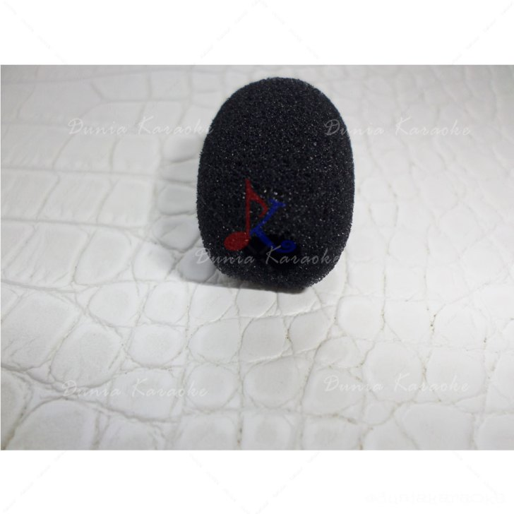 Busa Mic 5.5 Cm Diameter 1 Cm Microphone Windscreen Foam Cover