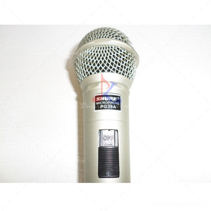 Mic Kabel Shure PG 38a Professional Vocal Artist Microphone