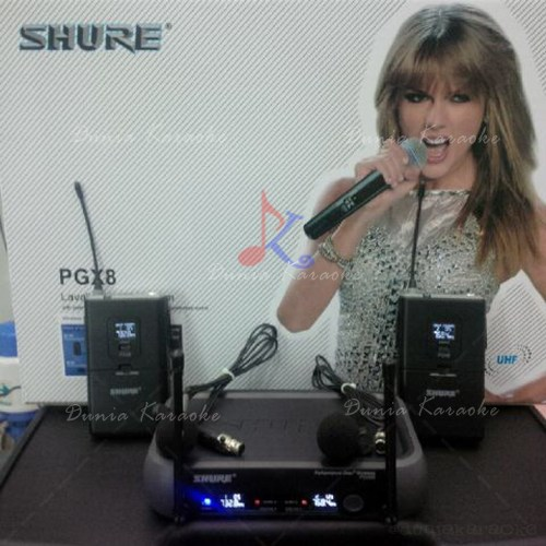 Microphone Wireless Shure PGX 8 ( Lavalier ) Digital Display