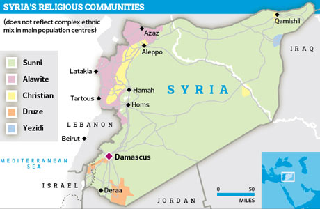 Syria's religious communities