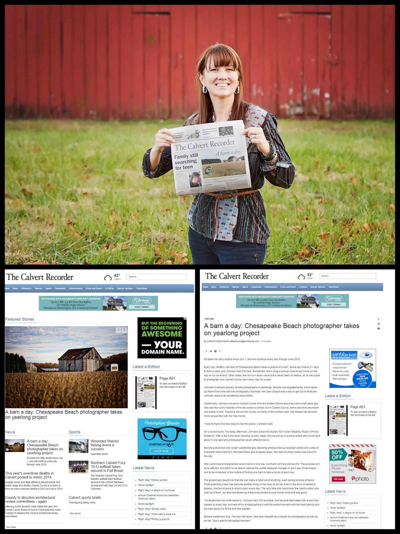 calvert county barn photographer