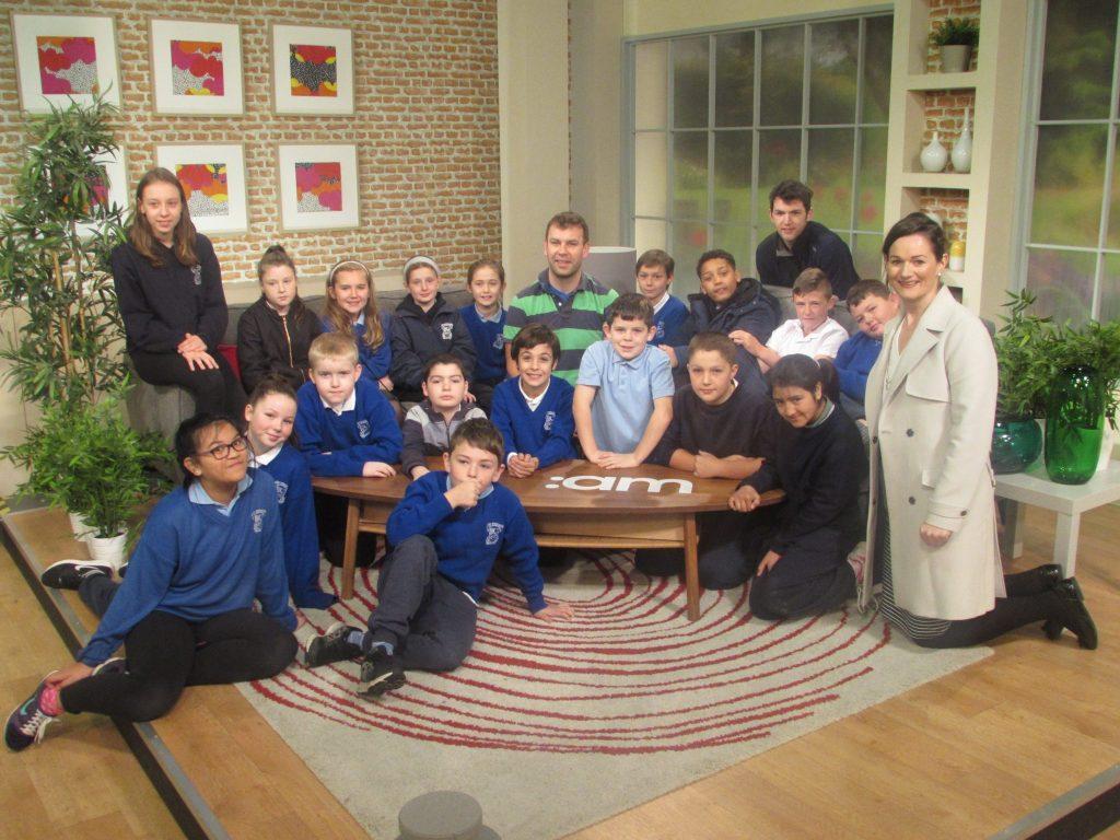 Visit to TV3