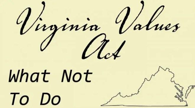 Virginia Values Act