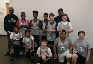 Dunn youth All-Stars in SWAC basketball regionals