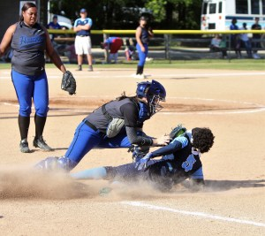 Hawks in Tri-County Six softball final after turning back Union Pines