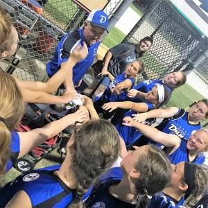 Three Dunn All-Star softball teams win in Pembroke