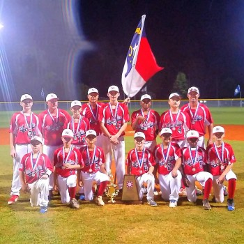 N.C. Majors (Dunn) finish third in Dixie World Series, Cooperstown next