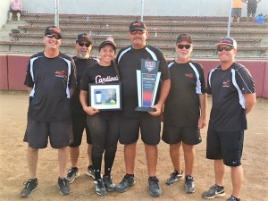 Recent grad helps team to national softball championship