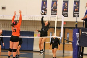 Raiders volleyball downs Wallace-Rose Hill, 3-0, on Senior Night
