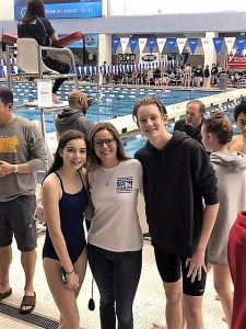 Eagles claim bronze in state swimming — by George!