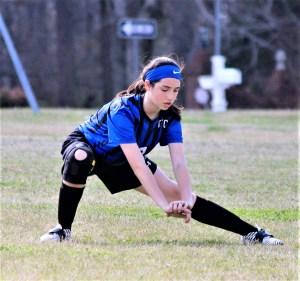 Eagles get on scoreboard in girls soccer