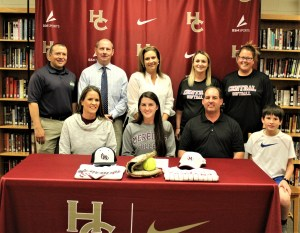 Wimberly signs for softball at Meredith