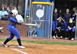 Hawks split at Union Pines, softball secures second in league