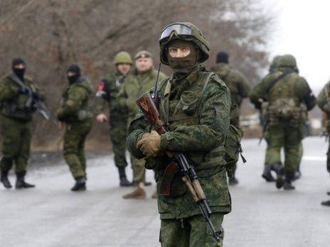 Число оккупационных войск на Донбассе превышает 35 тыс. человек – разведка Украины
