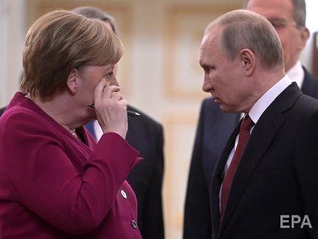Меркель и Путин обсудили нормандский процесс