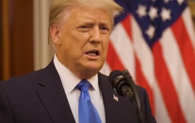 Трамп выступил с прощальной речью в Белом доме