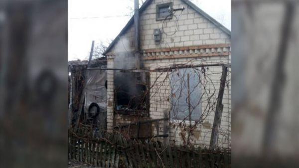 Новости Днепра: горел дачный дом
