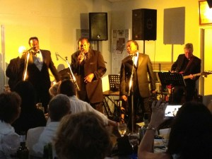 Drifters in concert at DDCC