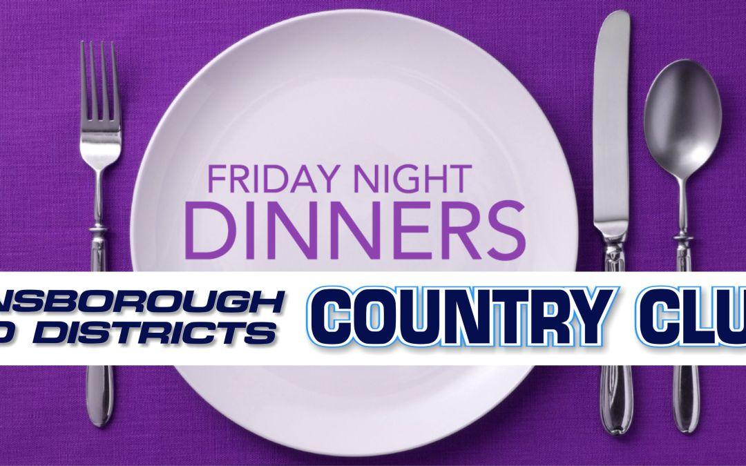 Friday night dinner: Online Booking