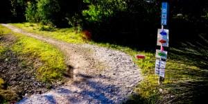 Mountain Biking Start Track