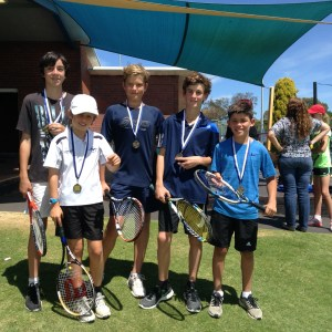 Dunsborough Tennis Club - Under 15 Junior Pennant Team -2015