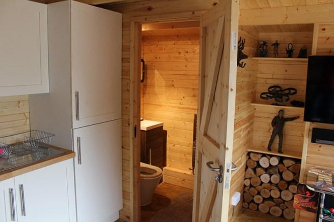 Case Study Log Cabin Interior Design Dunster House