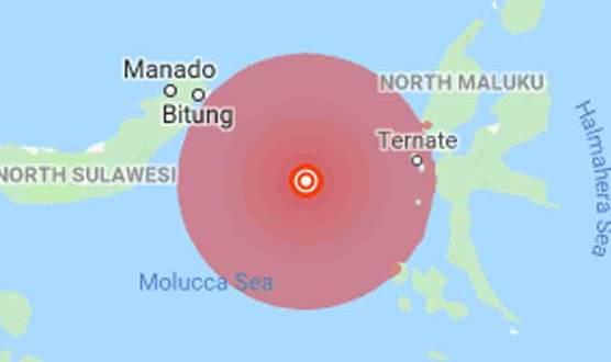 انڈونیشیا میں چھ اعشاریہ نو شدت کا زلزلہ، سونامی کی وارننگ جاری