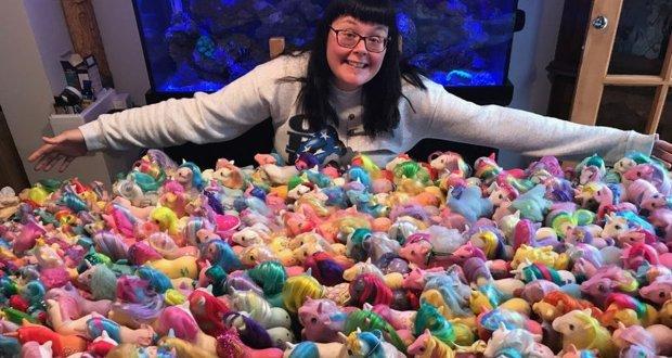 10 ہزار ڈالرز کے کھلونوں کی مالکن خاتون