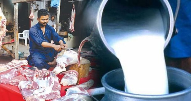 کوئٹہ میں گوشت، دودھ اور دہی کی من مانی قیمتوں پر فروخت جاری