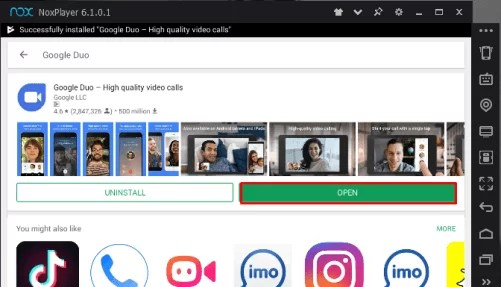 Google Duo Download for Mac
