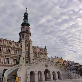 Najpiękniejszy renesansowy ratusz w Polsce jest w Zamościu