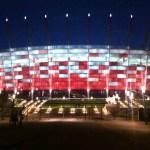 Zwiedzanie Stadionu Narodowego w Warszawie