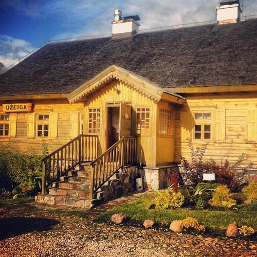 Zajazd i restauracja litewska na Suwalszczyźnie. Uzeiga Punskas / Zajazd Puńsk
