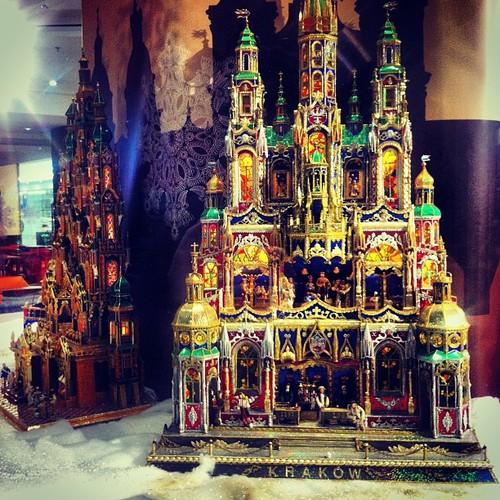 Wystawa krakowskich szopek noworocznych Kraków Galeria HAndlowa