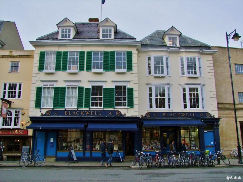 ksiegarnia Blackwells Bookshop Oksford